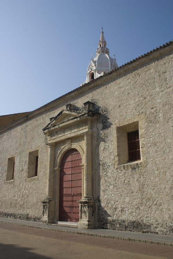 Cathédrale de Carthagène, Carthagène, Colombie image stock
