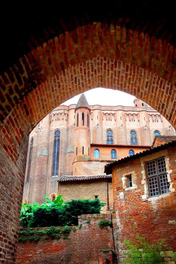 Cathédrale de Chambre-Cecile à Albi France photos libres de droits