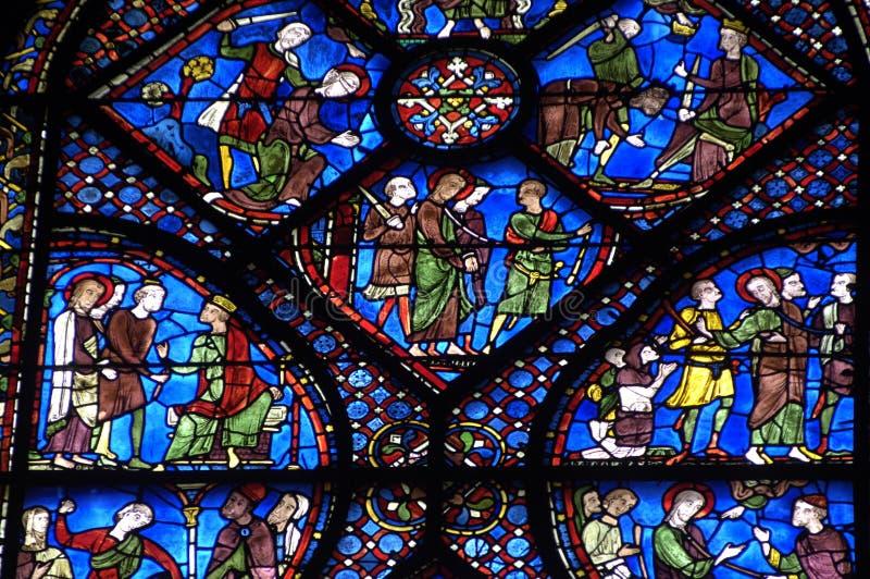 Cathédrale de Chartres photographie stock