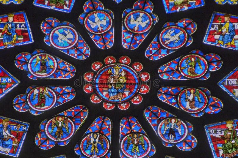 Cathédrale de Chartres dans Eure et Loir photos stock