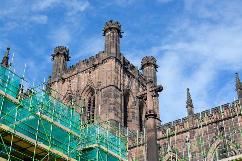 Cathédrale de Chester, R-U photos libres de droits