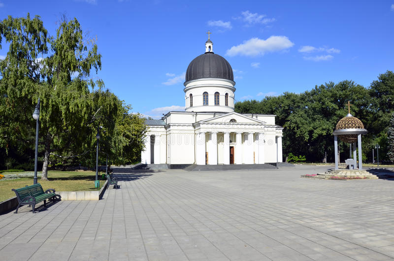 Cathédrale de Chisinau images libres de droits