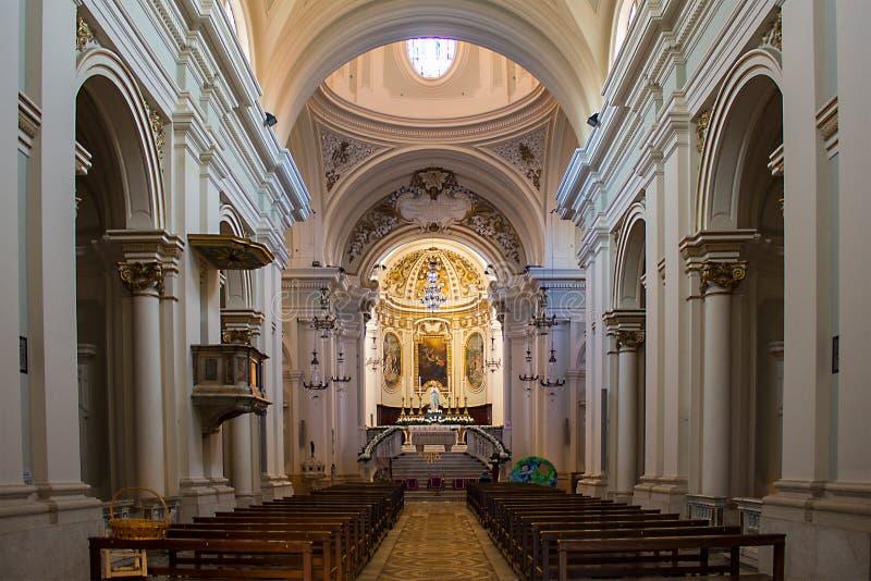 Cathédrale de Civita image stock