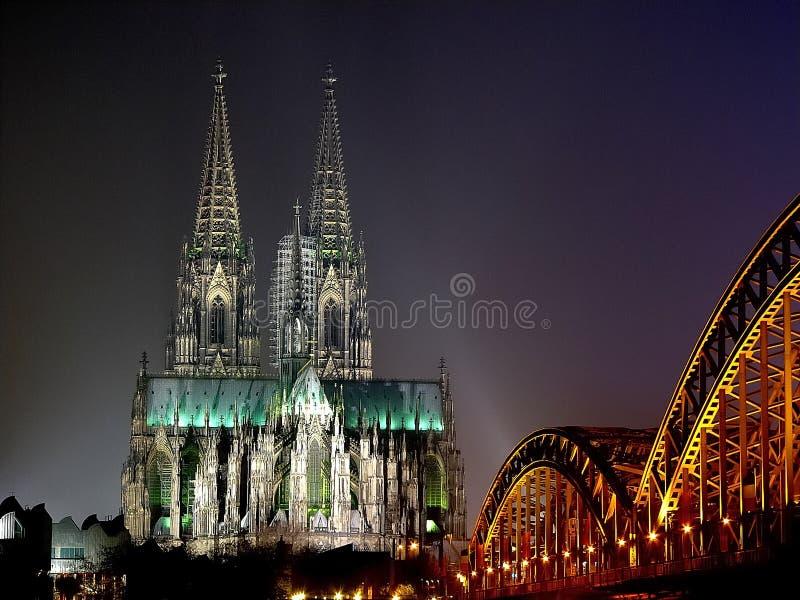 Cathédrale de Cologne photographie stock libre de droits