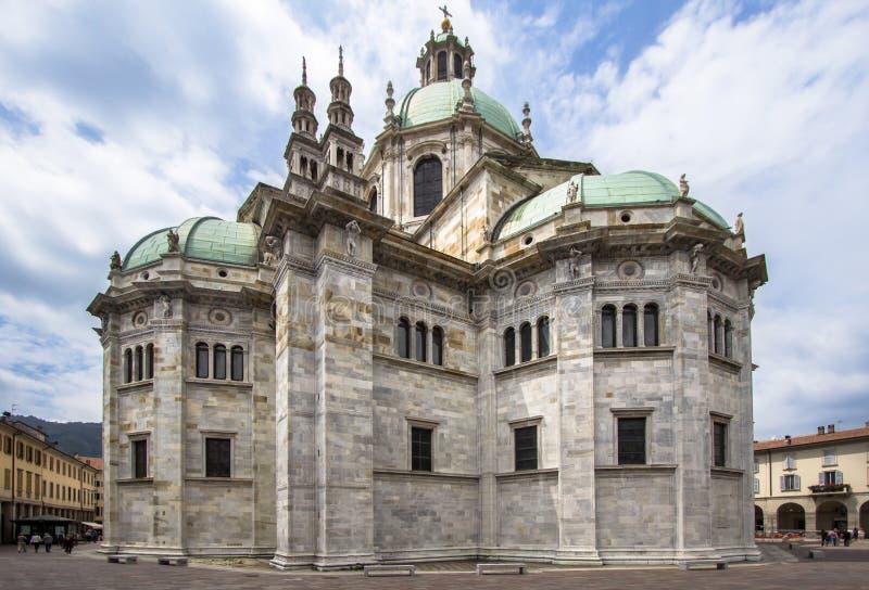 Cathédrale de Como, Italie photos stock