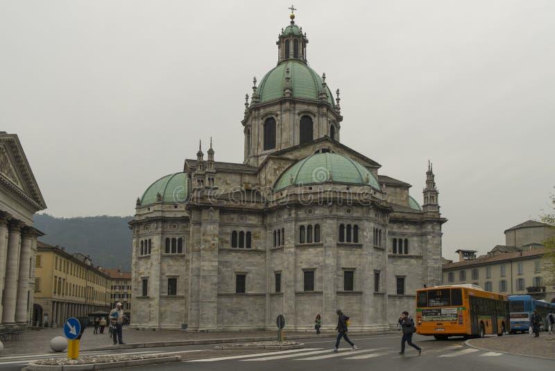 Cathédrale de Como, Italie photo libre de droits