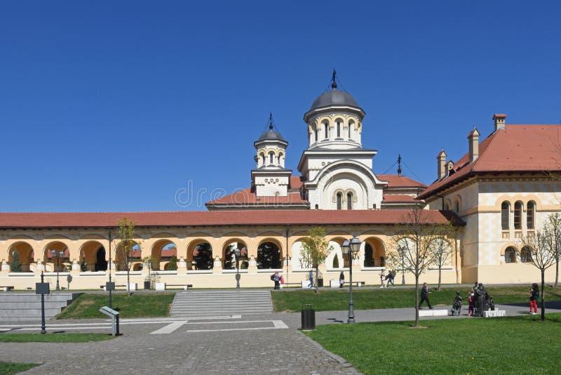 Cathédrale de couronnement du Roumain orthodoxe photos libres de droits