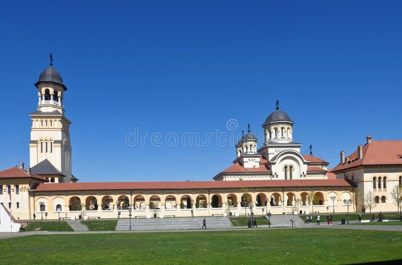 Cathédrale de couronnement du Roumain orthodoxe image stock