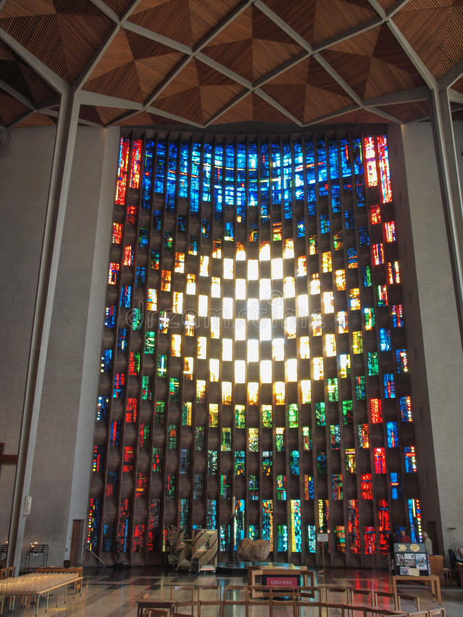 Cathédrale de Coventry à Coventry photographie stock