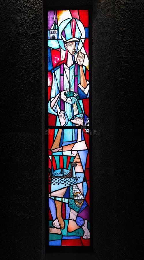 Cathédrale de Coventry image libre de droits