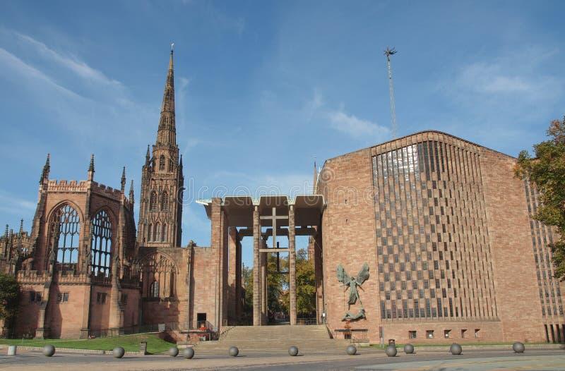 Cathédrale de Coventry photographie stock libre de droits