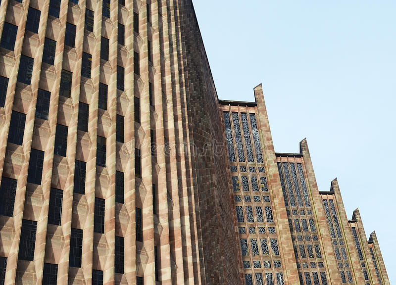 Cathédrale de Coventry photos stock