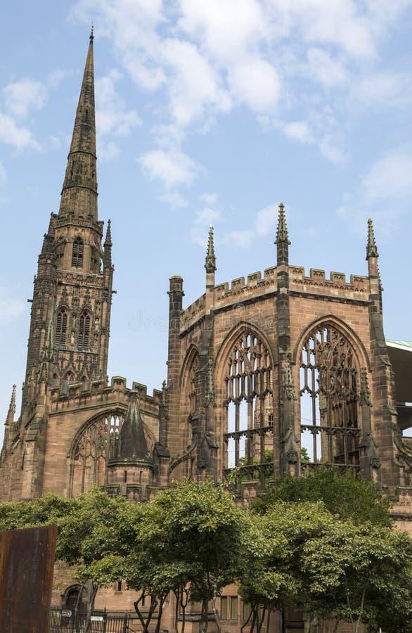Cathédrale de Coventry au R-U photo stock