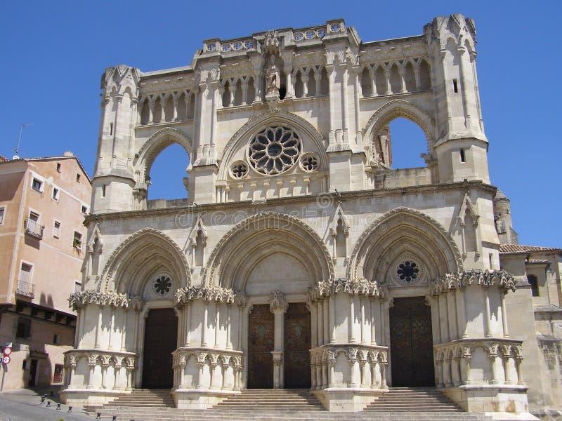 Cathédrale de Cuenca photo stock