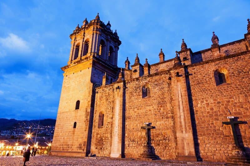 Cathédrale de Cusco images stock
