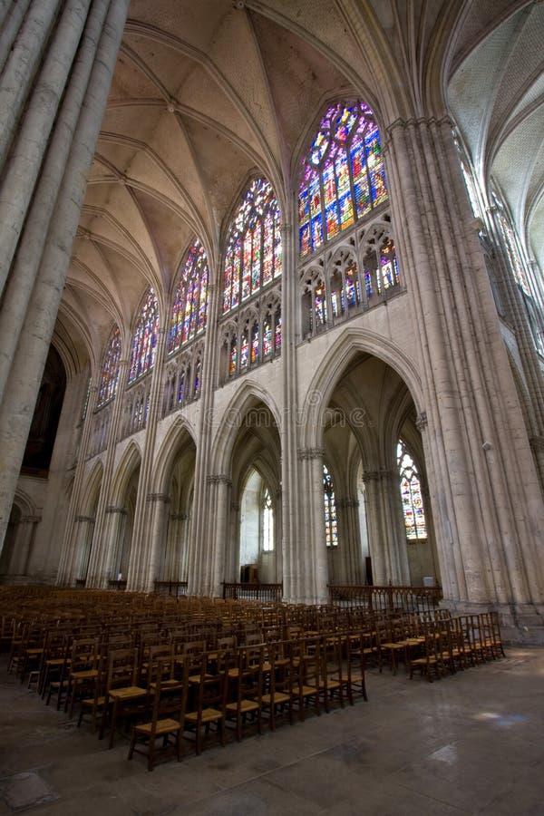 Cathédrale de d'Arc de Jeanne image stock
