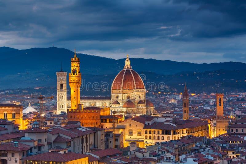 Cathédrale de Duomo à Florence photographie stock libre de droits