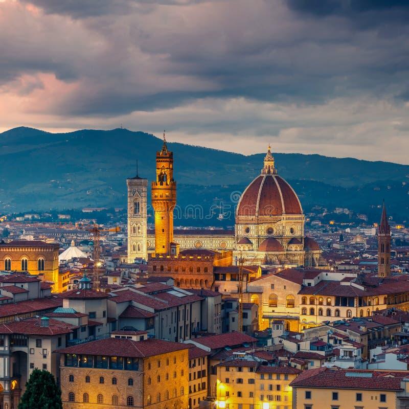 Cathédrale de Duomo à Florence images libres de droits
