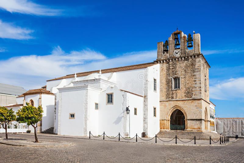 Cathédrale de Faro image stock