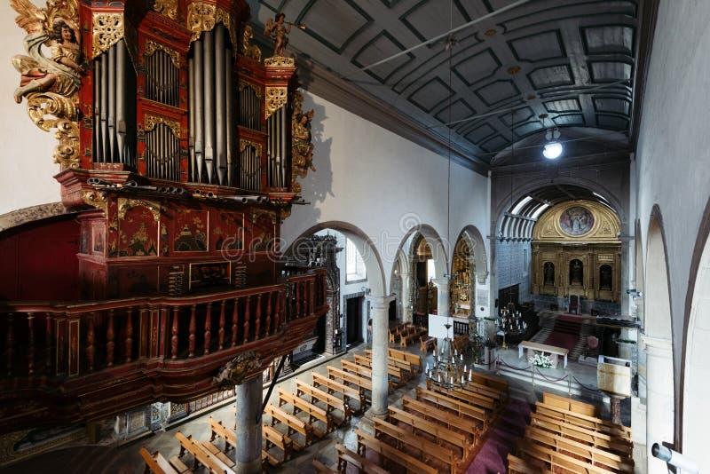 Cathédrale de Faro, dans Algarve, le Portugal photographie stock