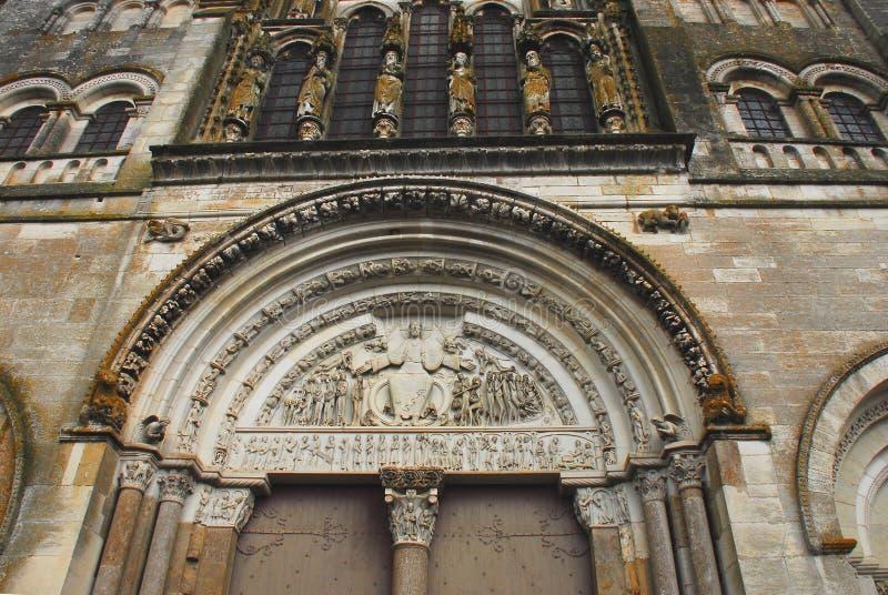 Cathédrale de Frances-Vezelay de saint Mary Magdalene photo stock