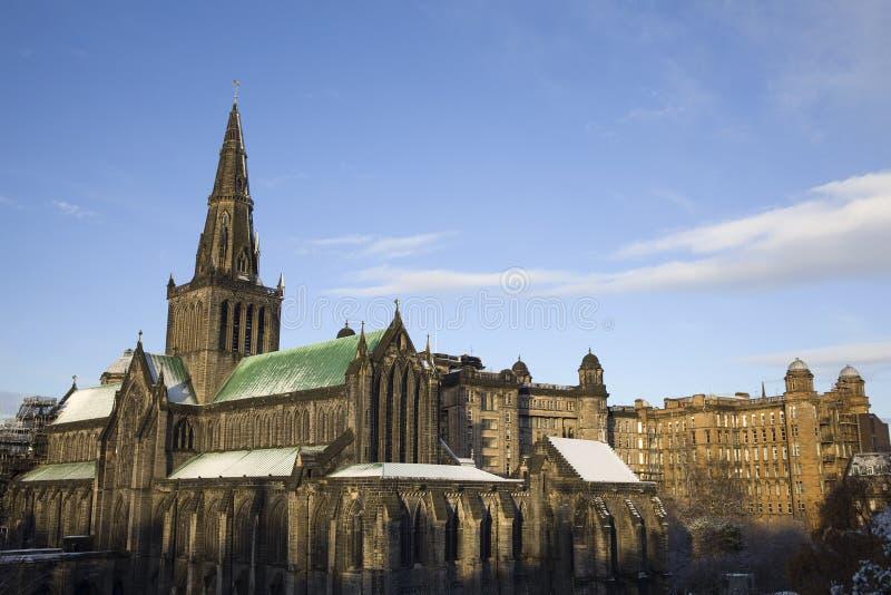 Cathédrale de Glasgow photo stock