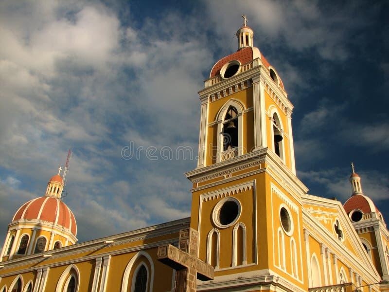 Cathédrale de Grenade images libres de droits