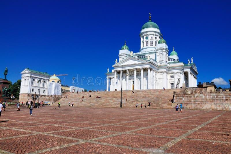 Cathédrale de Helsinki, Finlande photographie stock libre de droits