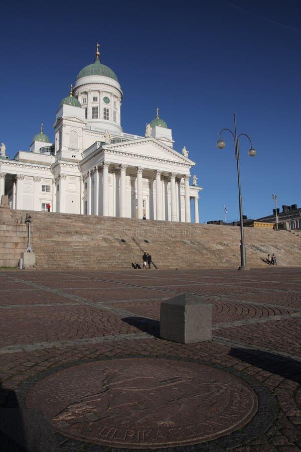 Cathédrale de Helsinki, Finlande photo stock