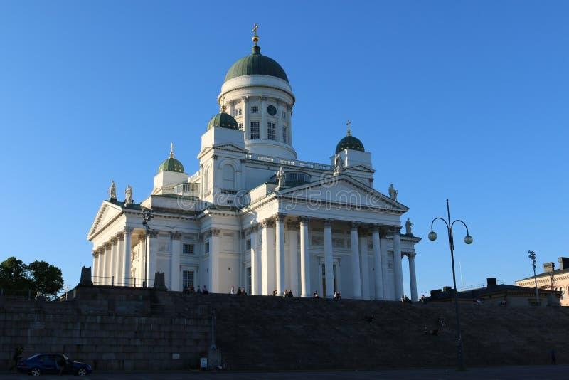 Cathédrale de Helsinki - tuomiokirkko de Helsingin image stock