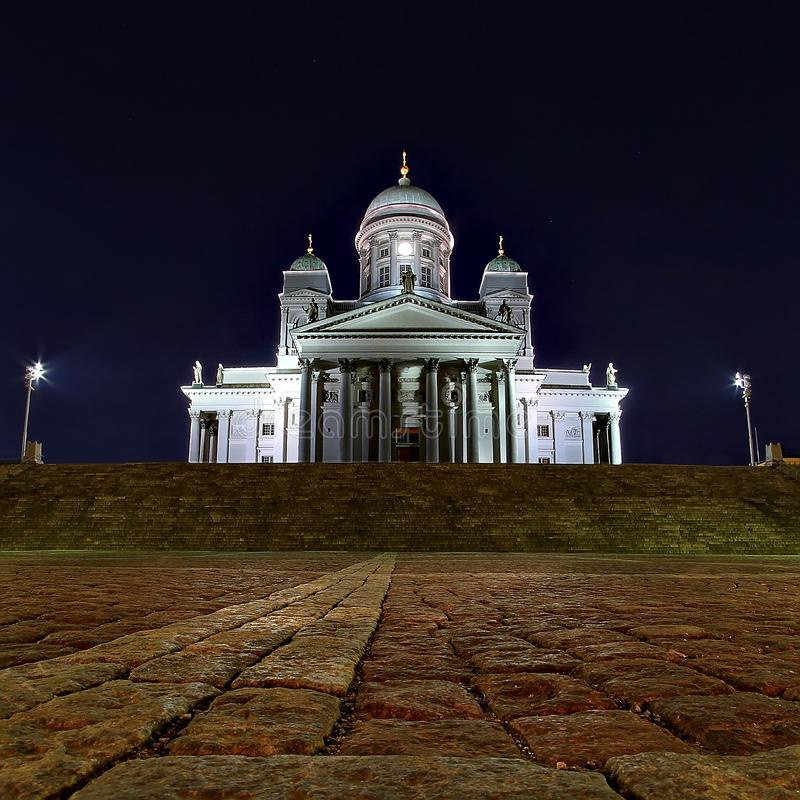 Cathédrale de Helsinky photographie stock