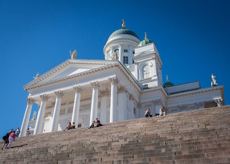 Cathédrale de Helsinky image libre de droits