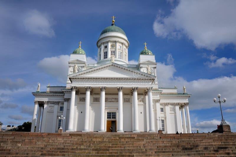 Cathédrale de Helsinky images stock