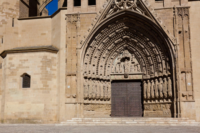 Cathédrale de Huesca photo stock