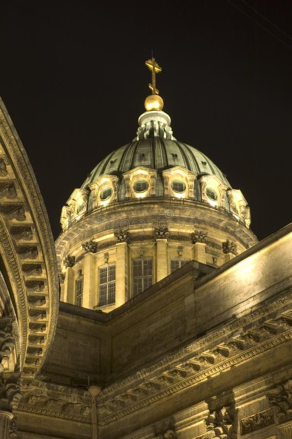 Cathédrale de Kazan à St Petersburg, Russie photos libres de droits