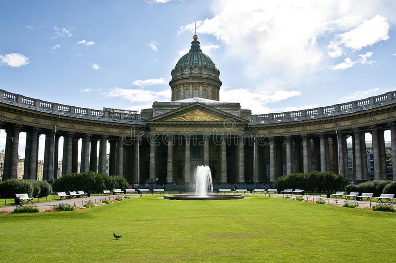Cathédrale de Kazan, St Petersburg photos libres de droits