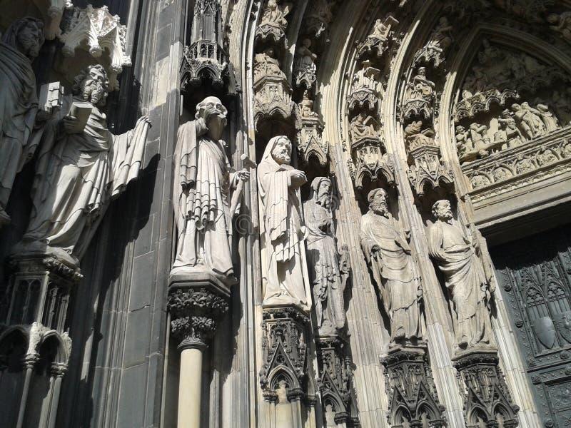 Cathédrale de Koln photo libre de droits