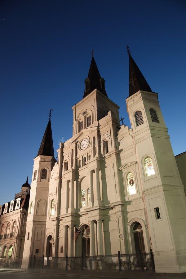 Cathédrale de la Nouvelle-Orléans - de St Louis photographie stock