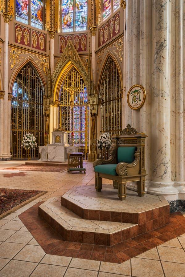 Cathédrale de la Ste.Hélène photo libre de droits