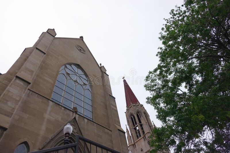 Cathédrale de la Ste.Hélène - le Montana images libres de droits