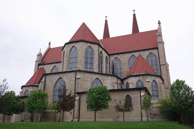 Cathédrale de la Ste.Hélène - le Montana image libre de droits