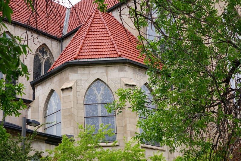 Cathédrale de la Ste.Hélène - le Montana photographie stock