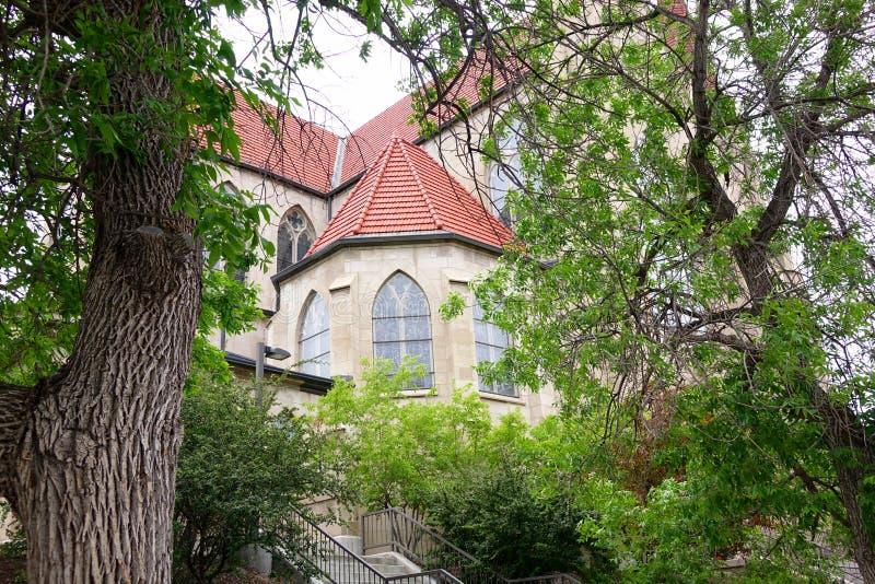 Cathédrale de la Ste.Hélène - le Montana image stock