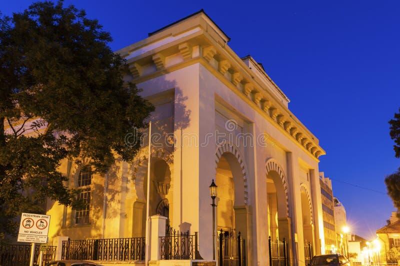 Cathédrale de la trinité sainte au Gibraltar photographie stock libre de droits