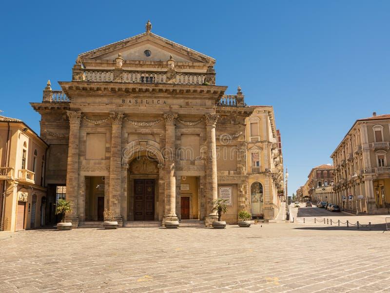 Cathédrale de la ville de Lanciano en l'Abruzzo photo libre de droits