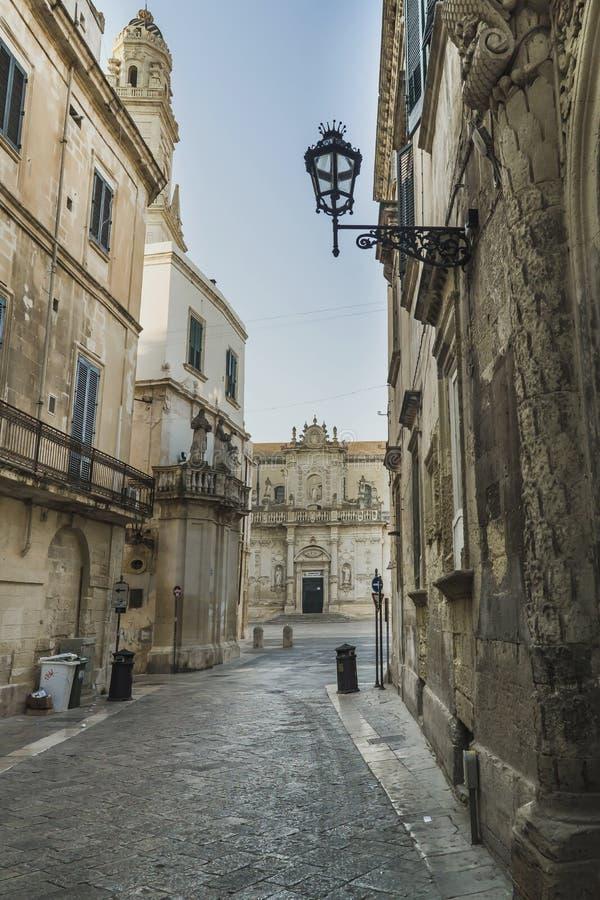 Cathédrale de Lecce, basilic baroque photos libres de droits