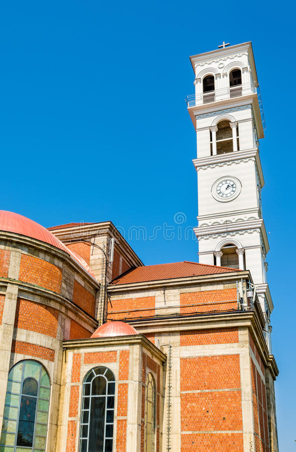 Cathédrale de Mère Teresa bénie dans Pristina photo stock