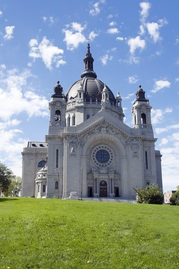 Cathédrale de manganèse de rue Paul de rue Paul photo stock