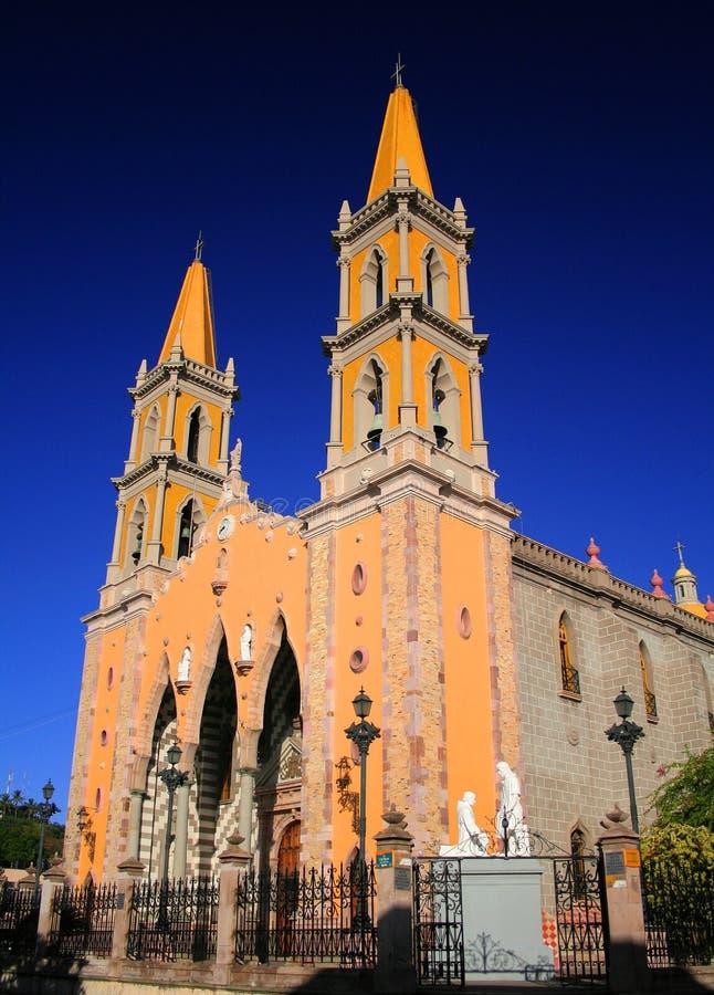 Cathédrale de Mazatlan photo libre de droits