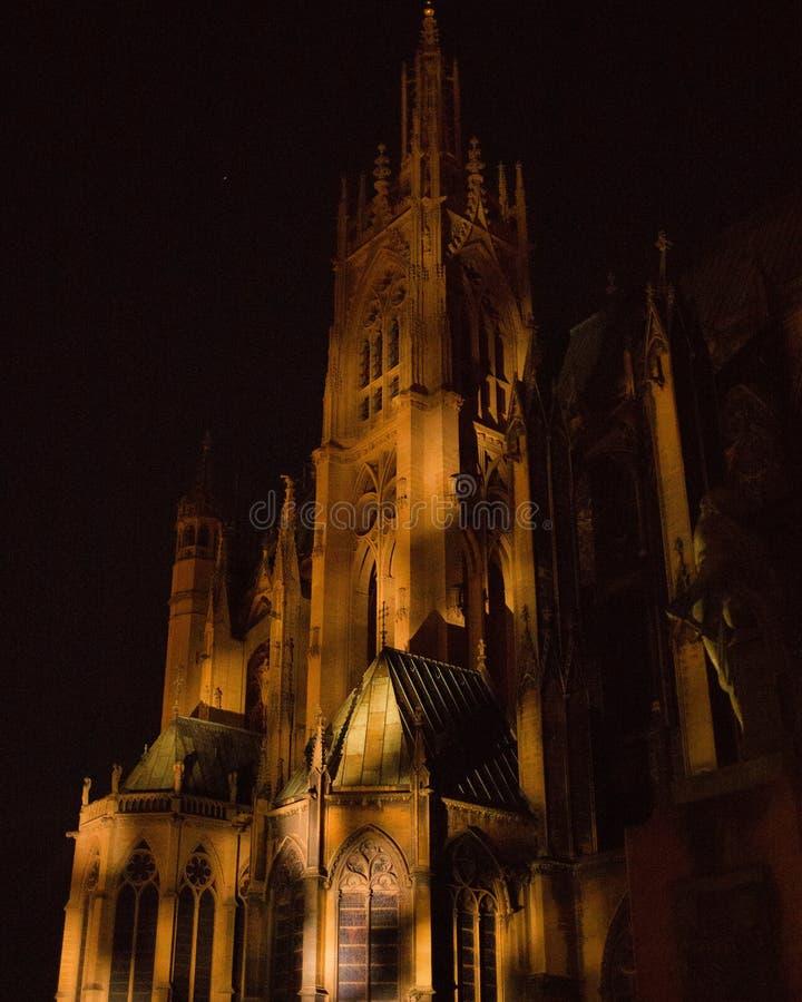 Cathédrale de Metz photo stock